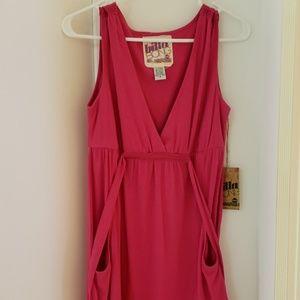 BILLABONG pink dress